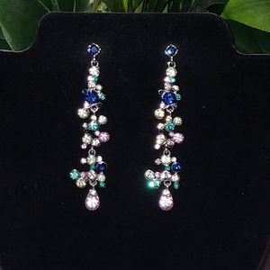 New Long Sparky Statement Earrings